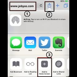 Safari screenshot